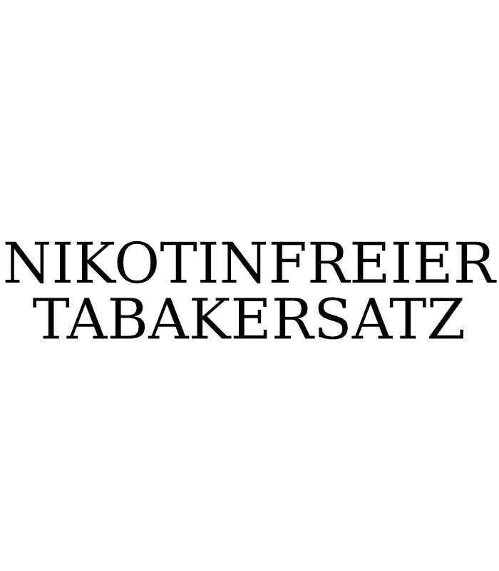 NIKOTINFREIER TABAKERSATZ