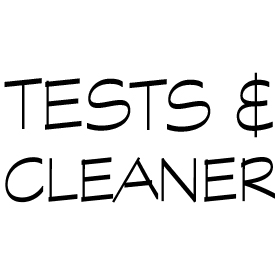 TESTS & CLEANER