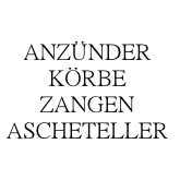 KOHLEANZÜNDER | KÖRBE | ZANGEN | ASCHETELLER