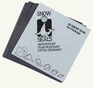 Snow Seals Black | 70 x 70 mm | 30 St.