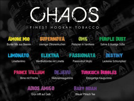 CHAOS Tobacco | PASSIONATA | 200g
