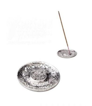 Räucherstäbchenhalter | Metall Blumen | Ø 94 mm