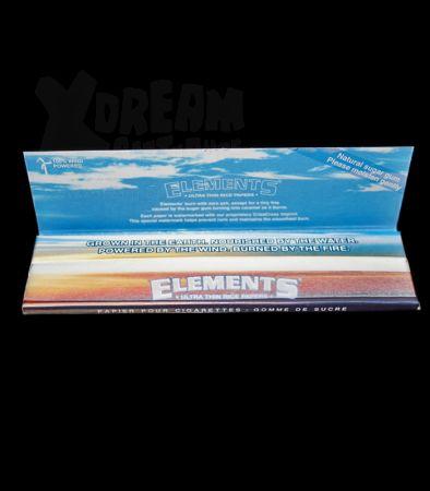 Elements | King Size Blättchen aus Reis