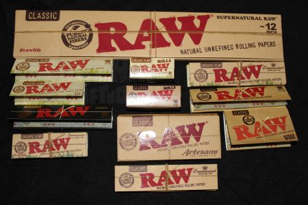 RAW Organic Hemp | Queen Size 1 1/4
