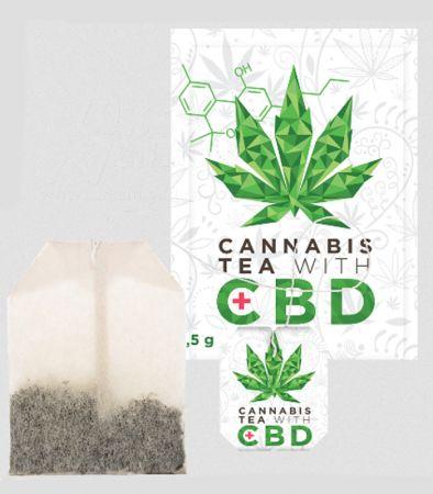 Euphoria | Cannabis Tee mit CBD
