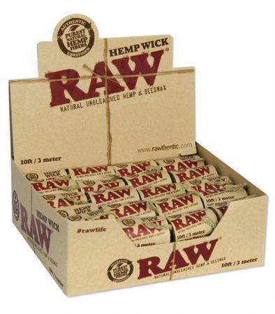 RAW | Hemp Wick Rolls | 300cm
