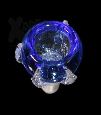 Glaskopf | Kralle blau | 14.4 Schliff