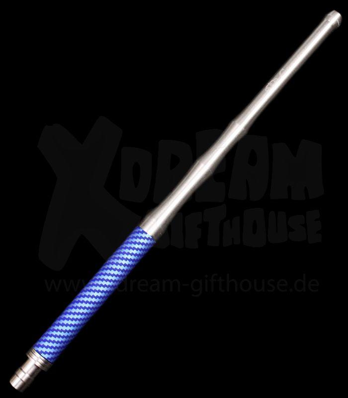 Caesar   Alu Carbon Mundstück   Blue