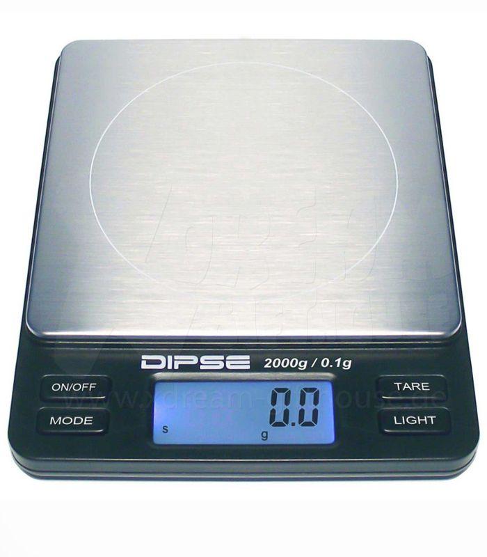 DIPSE | TP-2000 | Tischwaage |  0,1 - 2000 g