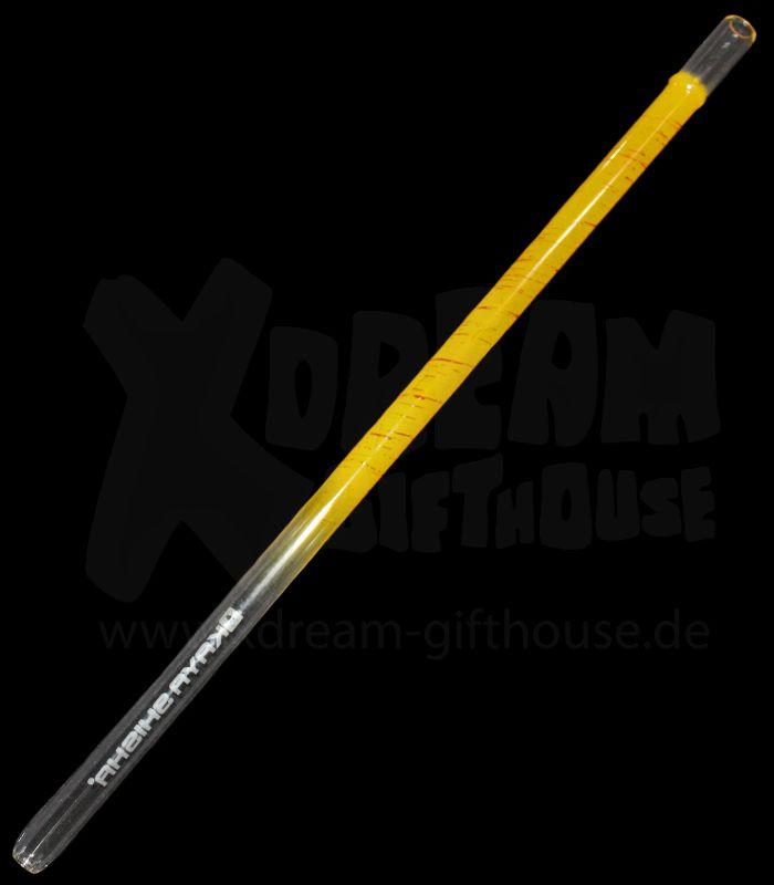 KAYA XL Glas Mundstück | Paint Gelb
