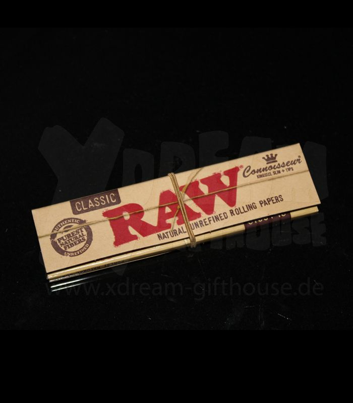 RAW Connoisseur | King Size Papers + Filter