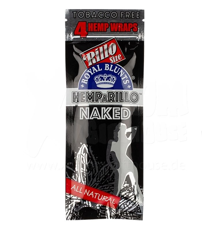 Royal Blunts | Naked (Natural) | 4 Blunt Wraps