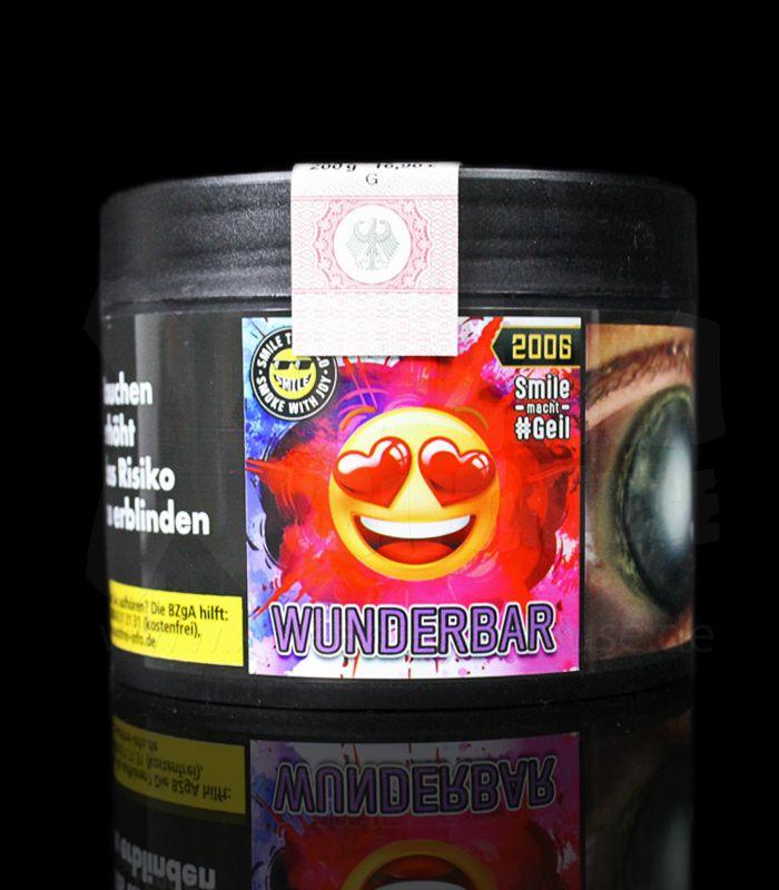 SMILE Tobacco   Wunderbar   200g
