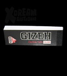 Gizeh Black | Filter Tips Slim perforiert