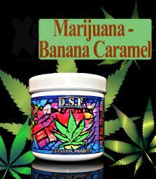 D.S.F Shisha Taste | Marijuana Banana Caramel | 130g