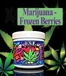D.S.F Shisha Taste | Marijuana Frozen Berries | 130g