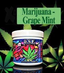 D.S.F Shisha Taste | Marijuana Traube Minze | 130g