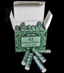 Original 420z | GRÜN Extra Slim Aktivkohlefilter | ø 6mm