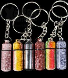 Versteck | Schlüsselanhänger | Metall farbig bedruckt