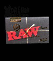RAW Classic Black | Single Wide Double | Ultradünn