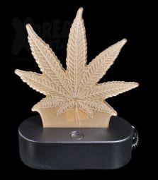 3D-Leuchte | Cannabis Leaf