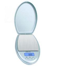 DIPSE   XS-500 Silber   Digitalwaage    0,1 - 500 g