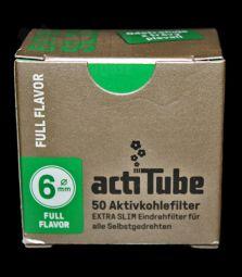 actiTube | Full Flavor Extra Slim | 50 St.