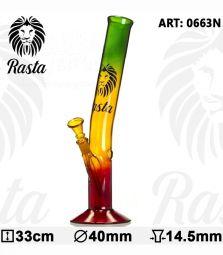 Rasta | Hangover Glass Bong | H:33cm