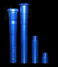 Universal Aluminium Chillum und Kupplung | mehrteilig