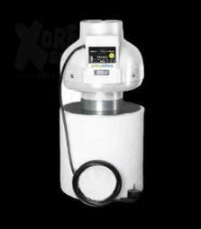 Prima Klima | Kombo-Kit 125-1S | Rohrventilator inkl. Aktivkohlefilter