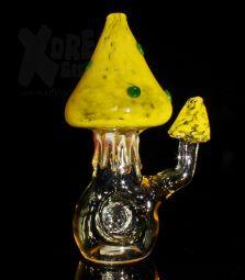Onearmed Mushroom Pipe   Einzelstück   gelb