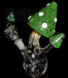Mushroom Bubbler BIG   Green   Einzelstück
