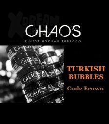 CHAOS Tobacco | Turkish Bubbles CODE Brown | 200g