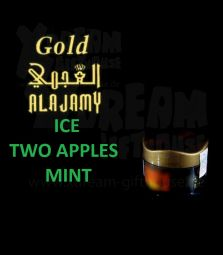 Al Ajamy Gold | ICE TWO APPLES MINT | 200g