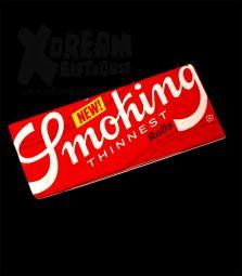 Smoking Red | Thinnest Rolls | 44mmx4m