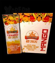 True Hemp | Organic Wraps Mango | 2 Blunt Wraps