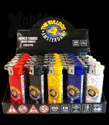 Bulldog Headshop Feuerzeug | 5 Farben