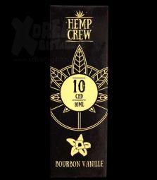 Hemp Crew | CBD Öl | 10 % | 10ml | Bourbon Vanille