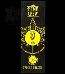 Hemp Crew | CBD Öl | 10 % | 10ml | Freche Zitrone