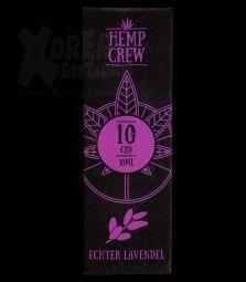 Hemp Crew | CBD Öl | 10 % | 10ml | Echter Lavendel