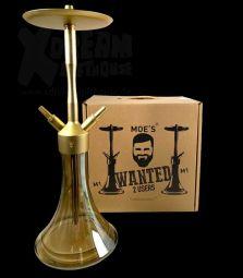 MOE´S | Wanted 2U M1 | Alu | Gold Matt
