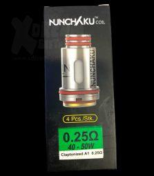 Nunchaku   0,25 Ohm   40-50W   4 Stck.