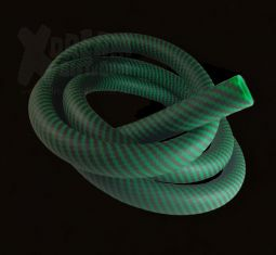 Silikonschlauch Soft-Touch | Carbon green | 150cm