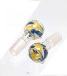 Boost   Mixed Colors Glass Bowl   blau gelb   18.8er