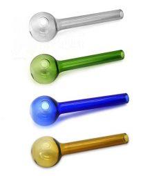 Glas Ölpfeife | 15cm | verschiedene Farben