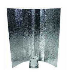 Reflektorkappe | Hammerschlag glänzend | 47 x 47 cm