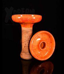 Oblako Phunnel L | Glazed orange-rot | 12 cm