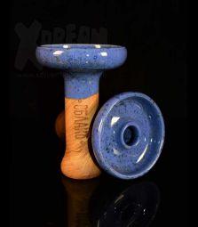 Oblako Phunnel L | Glazed dunkelblau | 12 cm