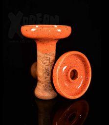 Oblako Phunnel L | Glazed orange-mohn | 12 cm