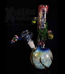 Handmade | Glasbong | Oktopusse | 23,5cm | 14,5er | Einzelstück